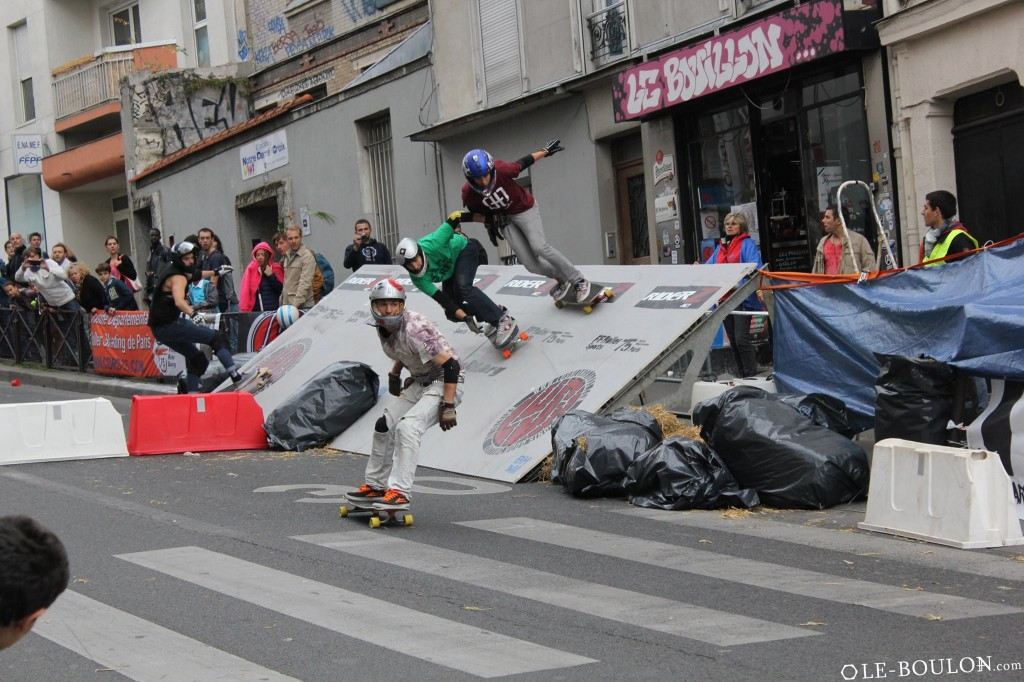 Paris boardercross Menilmontant 2014 report